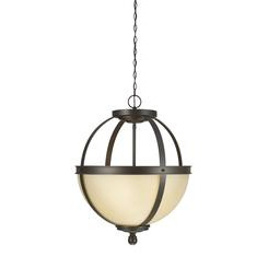 Sea Gull Lighting 6690403-715 Three Light Pendant