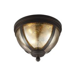 Sea Gull Lighting 7510403-715 Three Light Ceiling Flush Mount
