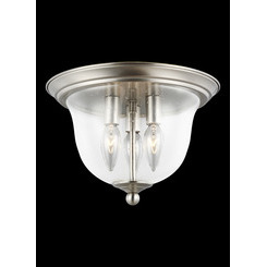 Sea Gull Lighting 7514503-962 Three Light Ceiling Flush Mount