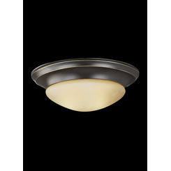 Sea Gull Lighting 75444-782 One Light Ceiling Flush Mount