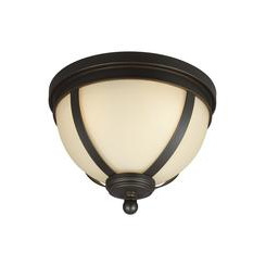 Sea Gull Lighting 7590403-715 Three Light Ceiling Flush Mount
