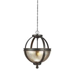 Sea Gull Lighting 7710402-715 Two Light Semi-Flush Convertible Pendant
