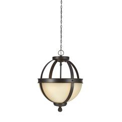 Sea Gull Lighting 7790402EN3-715 Two Light Semi-Flush Convertible Pendant