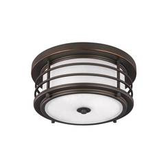 Sea Gull Lighting 7824452EN3-71 Two Light Outdoor Ceiling Flush Mount