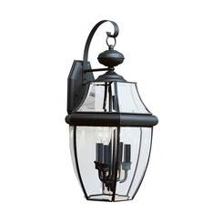 Sea Gull Lighting 8040-12 Three Light Outdoor Wall Lantern