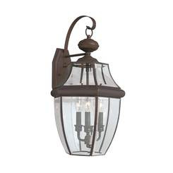 Sea Gull Lighting 8040-71 Three Light Outdoor Wall Lantern