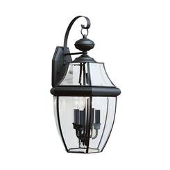 Sea Gull Lighting 8040EN-12 Three Light Outdoor Wall Lantern
