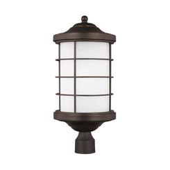 Sea Gull Lighting 8224451-71 One Light Outdoor Post Lantern