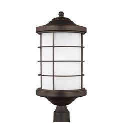 Sea Gull Lighting 8224451EN3-71 One Light Outdoor Post Lantern