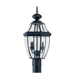 Sea Gull Lighting 8229EN-12 Two Light Outdoor Post Lantern