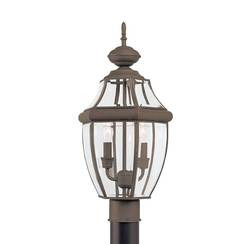Sea Gull Lighting 8229EN-71 Two Light Outdoor Post Lantern