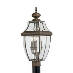 Sea Gull Lighting 8239EN-71 Three Light Outdoor Post Lantern