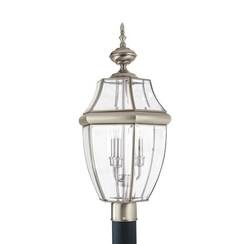 Sea Gull Lighting 8239EN-965 Three Light Outdoor Post Lantern