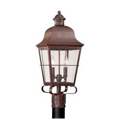 Sea Gull Lighting 8262-44 Two Light Outdoor Post Lantern