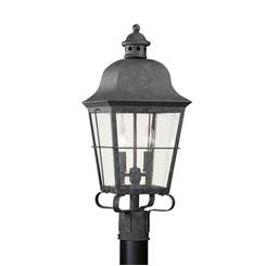 Sea Gull Lighting 8262-46 Two Light Outdoor Post Lantern