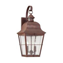 Sea Gull Lighting 8463-44 Two Light Outdoor Wall Lantern