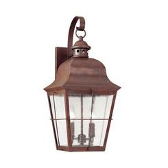 Sea Gull Lighting 8463EN-44 Two Light Outdoor Wall Lantern