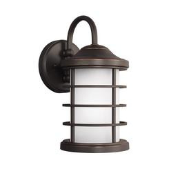 Sea Gull Lighting 8524451-71 Small One Light Outdoor Wall Lantern