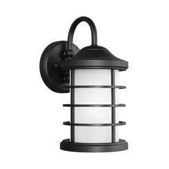 Sea Gull Lighting 8524451EN3-12 Small One Light Outdoor Wall Lantern