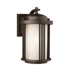 Sea Gull Lighting 8547901DEN3-71 Small One Light Outdoor Wall Lantern