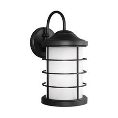 Sea Gull Lighting 8624451-12 Large One Light Outdoor Wall Lantern