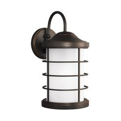 Sea Gull Lighting 8624451-71 Large One Light Outdoor Wall Lantern