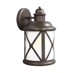 Sea Gull Lighting 8721451-71 Large One Light Outdoor Wall Lantern