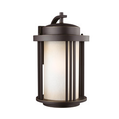 Sea Gull Lighting 8847901DEN3-71 Large One Light Outdoor Wall Lantern
