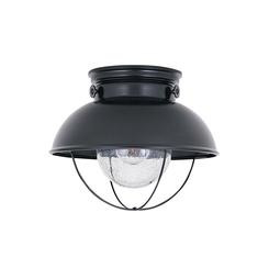 Sea Gull Lighting 8869-12 One Light Outdoor Ceiling Flush Mount