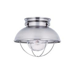 Sea Gull Lighting 8869-98 One Light Outdoor Ceiling Flush Mount