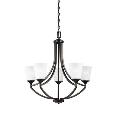 Sea Gull Lighting 3124505-710 Five Light Chandelier