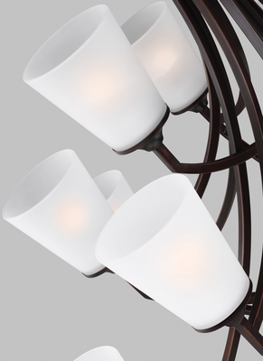 Sea Gull Lighting 3124515-710 Fifteen Light Chandelier