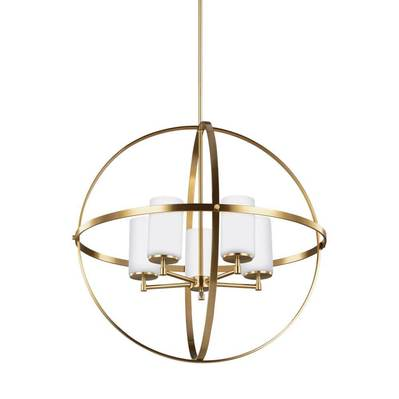 Sea Gull Lighting 3124605-848 Alturas Five Light Chandelier