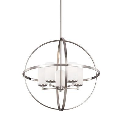Sea Gull Lighting 3124605-962 Alturas Five Light Chandelier