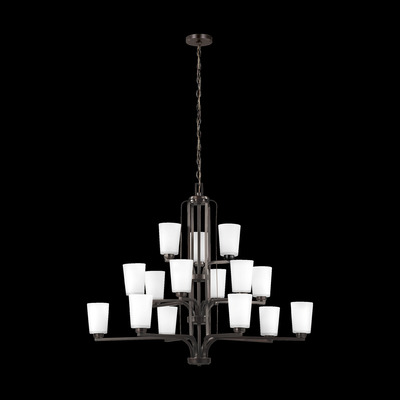 Sea Gull Lighting 3128915-710 Fifteen Light Chandelier