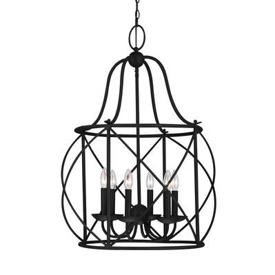 Sea Gull Lighting 5116406-839 Turbinio Six Light Hall / Foyer