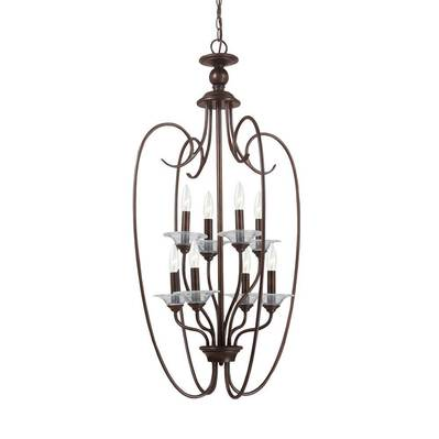 Sea Gull Lighting 51317-710 Eight Light Hall / Foyer