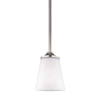 Sea Gull Lighting 6124501-962 One Light Mini-Pendant