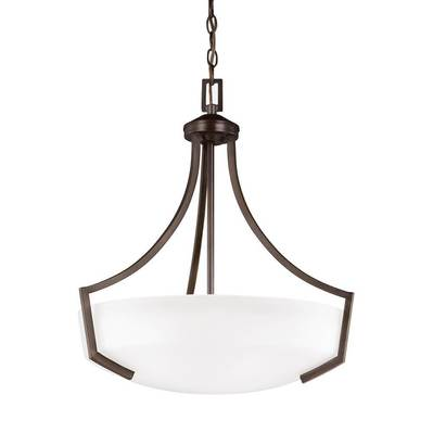 Sea Gull Lighting 6624503EN3-710 Three Light Pendant