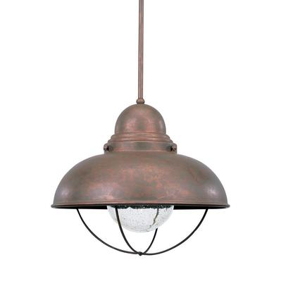 Sea Gull Lighting 6658-44 One Light Outdoor Pendant