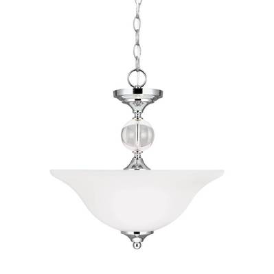 Sea Gull Lighting 7713402-05 Two Light Semi-Flush Convertible Pendant