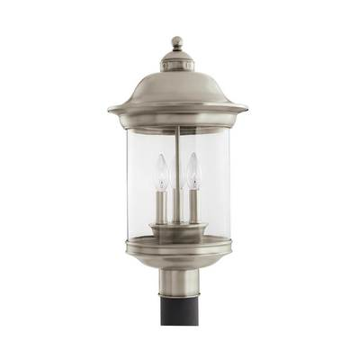 Sea Gull Lighting 82081EN-965 Three Light Outdoor Post Lantern