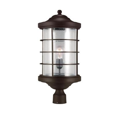 Sea Gull Lighting 8224401-71 One Light Outdoor Post Lantern