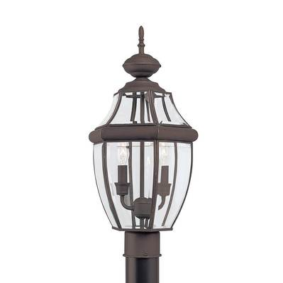 Sea Gull Lighting 8229-71 Two Light Outdoor Post Lantern