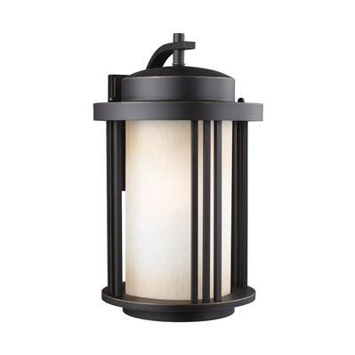 Sea Gull Lighting 8847901-71 Large One Light Outdoor Wall Lantern
